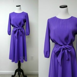 vintage 70s Ms Classic secretary dress made in USA